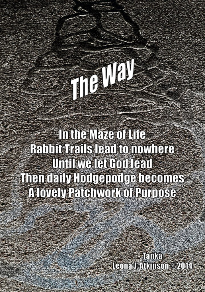 The Way poem and photograph