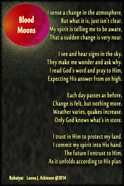 Blood Moons--Rubaiyat poem