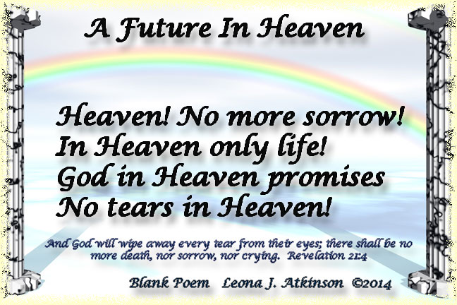 Heaven, Future, poem, Revelation 21:4