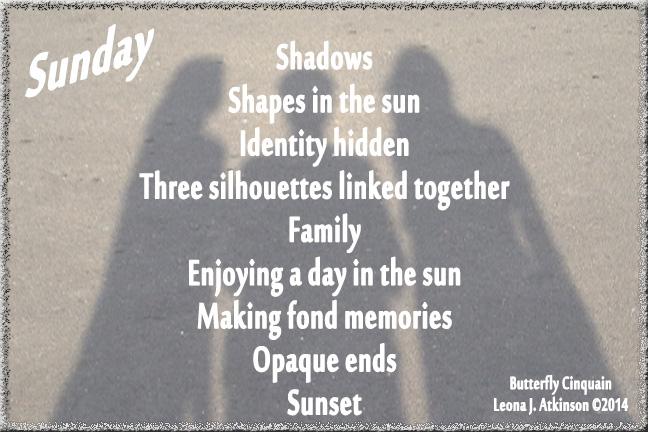 Shadows-Family-Butterfly Cinquain poem