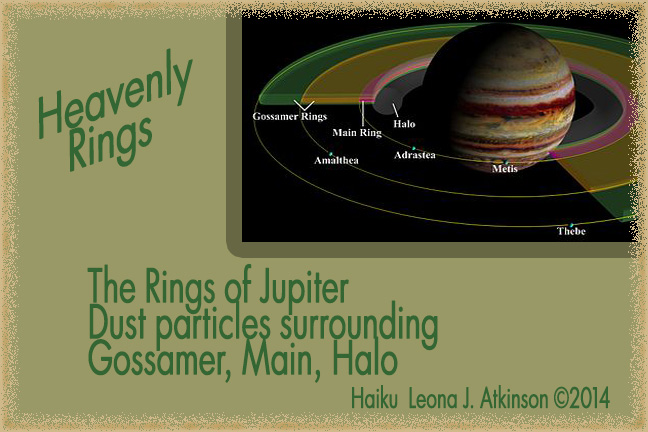 Haiku--Jupiter Rings