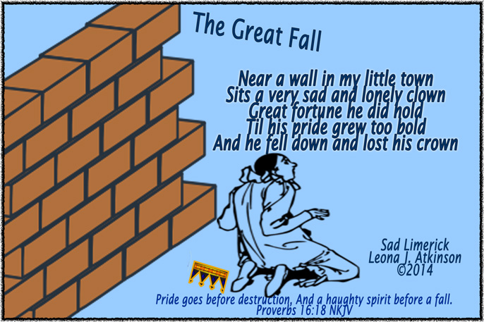 The Great Fall--Sad Limerick