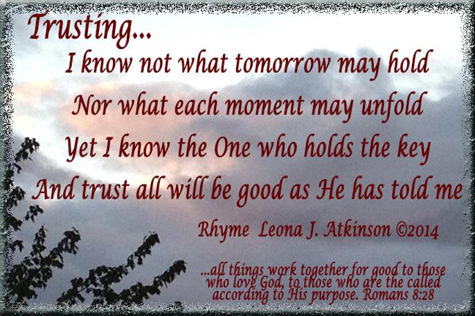 Trusting--Rhyme