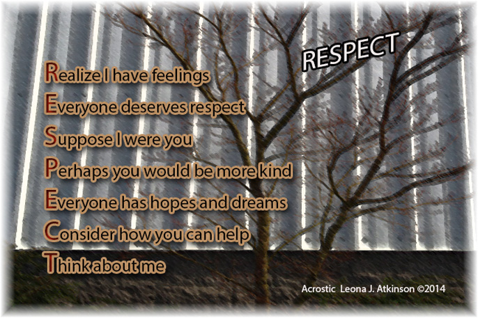 respect – Leonas Lines–Poetry Plus May Flowers Tumblr