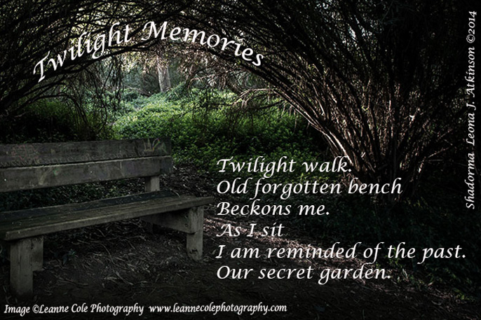 Twilight Memories--Shadorma poem