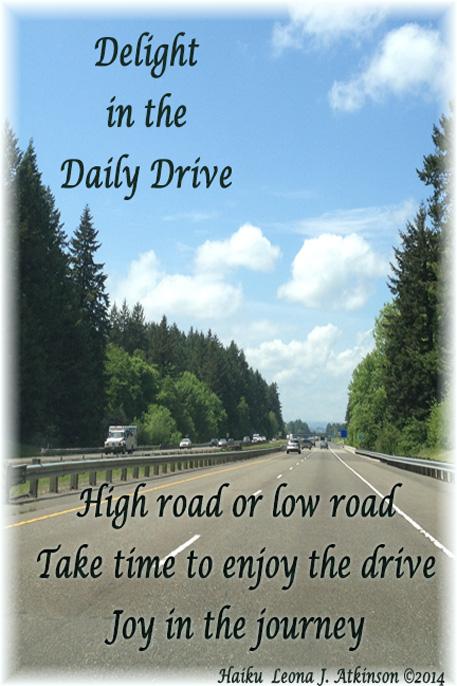 Daily Drive--Haiku highway photograph