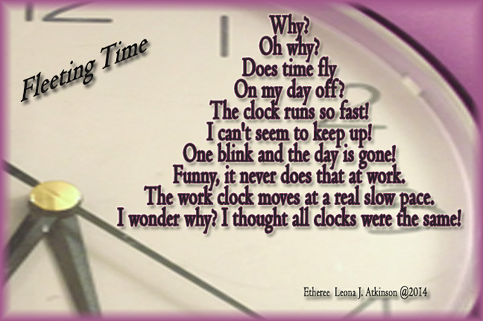 clock--Etheree poem about time
