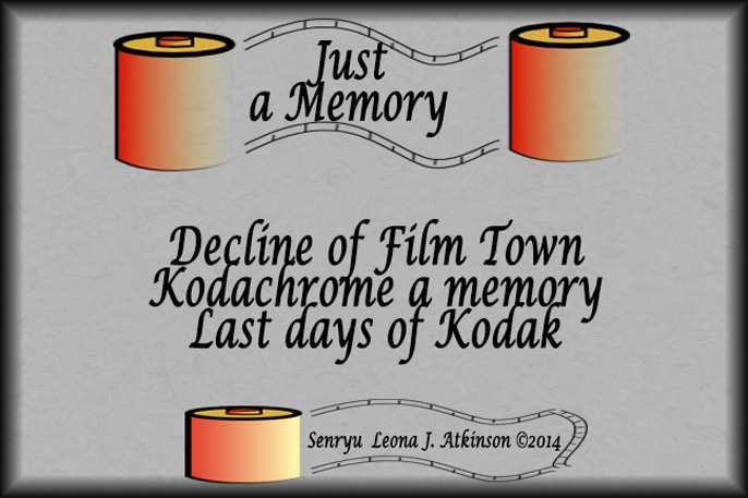 Just a Memory--Senryu poem written about the decline of Kodak Fim