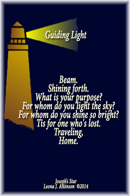 Guiding Light-Lighthouse-Joseph's Star poetry form