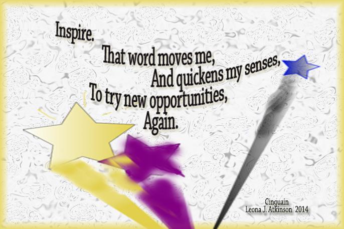 Inspire--Cinquain poem