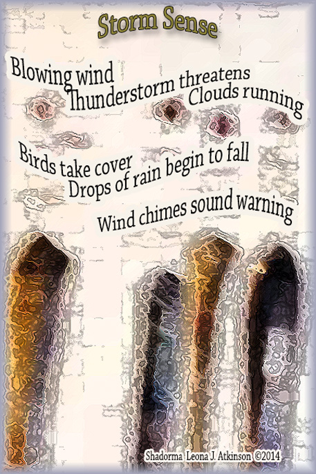 Shadorma poem about a thunderstorm