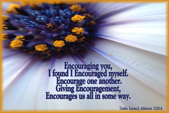 Tanka poem about encouragement