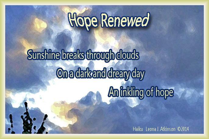 Hope Renewed-Haiku about hope