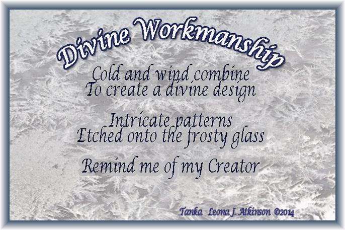 ice, frost, Tanka poem,