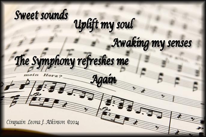 Symphony a Cinquain poem