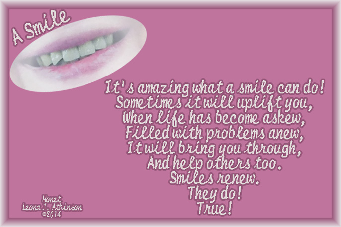 smile--Nonet poem