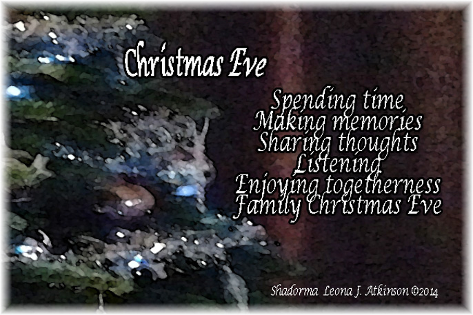 Christmas Eve--Shadorma poem