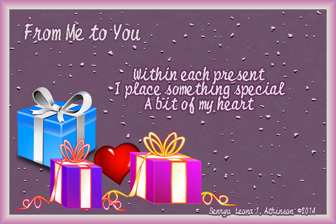 gifts of the heart--Senryu poem