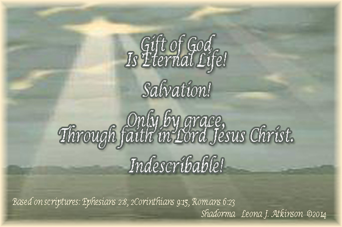 God's Gift Shadorma poem based on scriptures