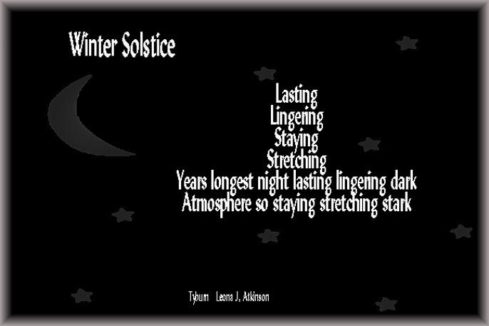 Winter Solstice--Tyburn poem