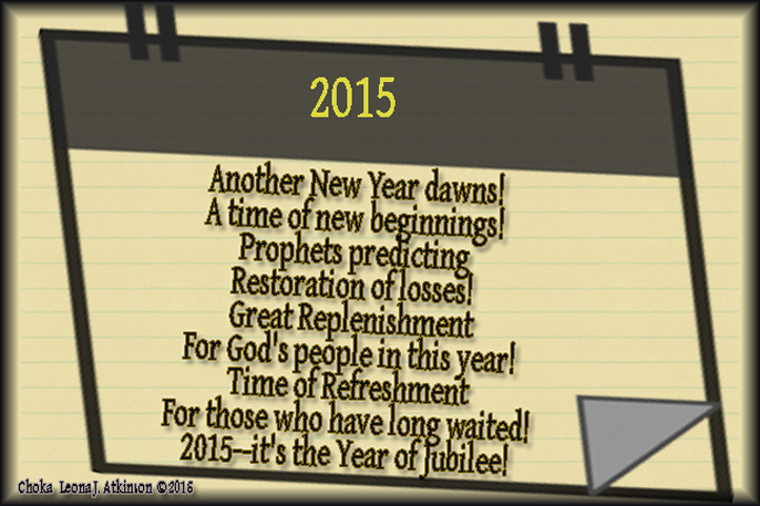Choka poem about the year 2015