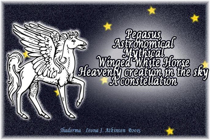 Pegasus--Shadorma poem