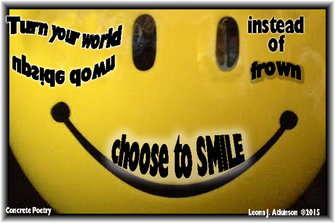 Smile poem and image