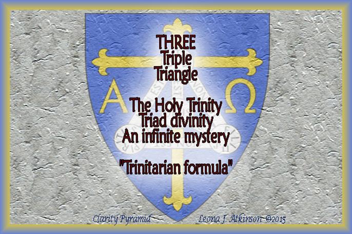 Clarity Pyramid poem about THREE
