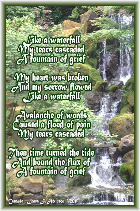 Waterfall--Cascade poem