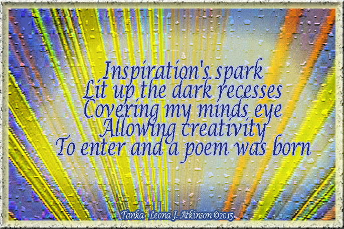 Tanka about Inspiration