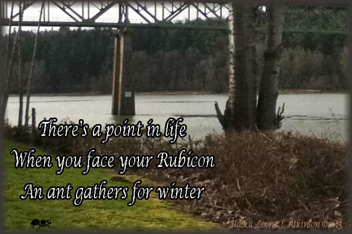 Point of No Return--Rubicon--Haiku