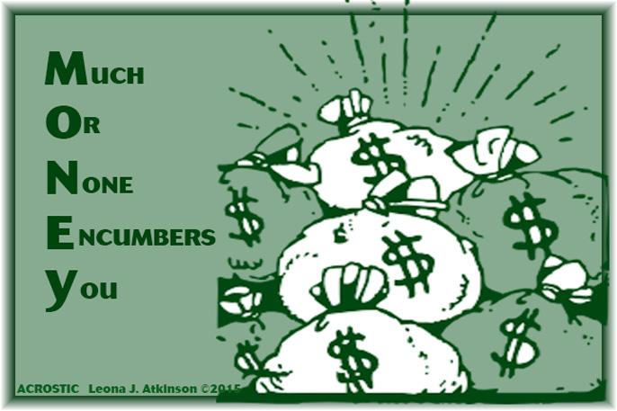 Acrostic--MONEY