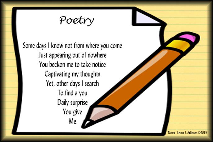 10-line Poem Challenge #18: Reversed Etheree