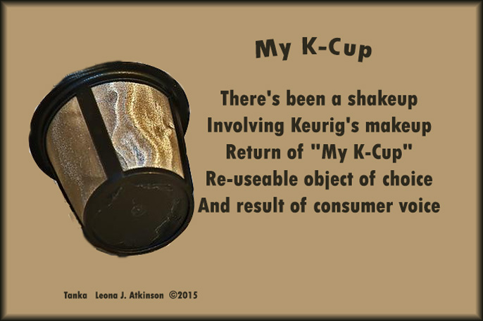 K-Cup news--Tanka poem