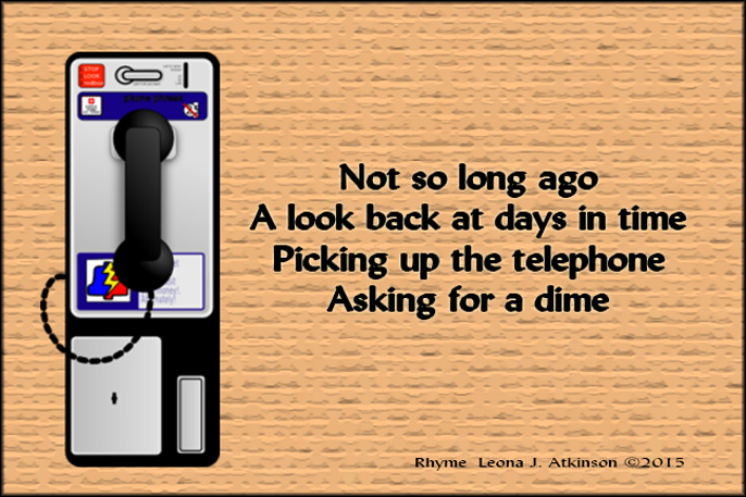 Rhyme about a payphone
