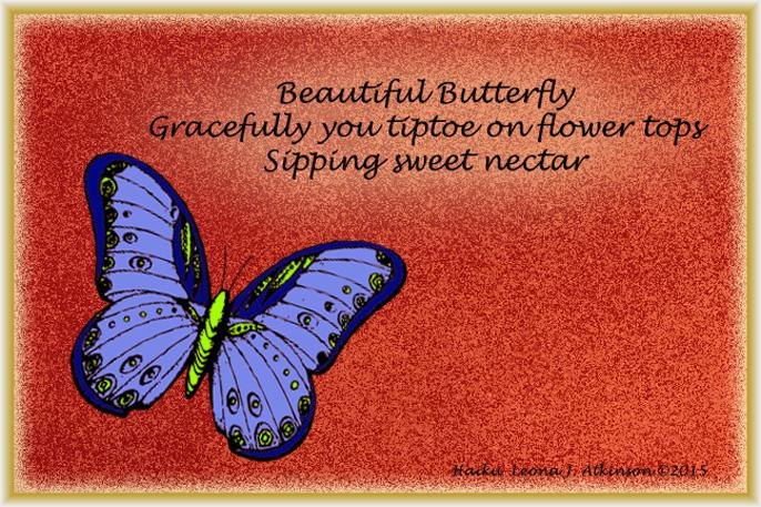 Butterfly Haiku poem