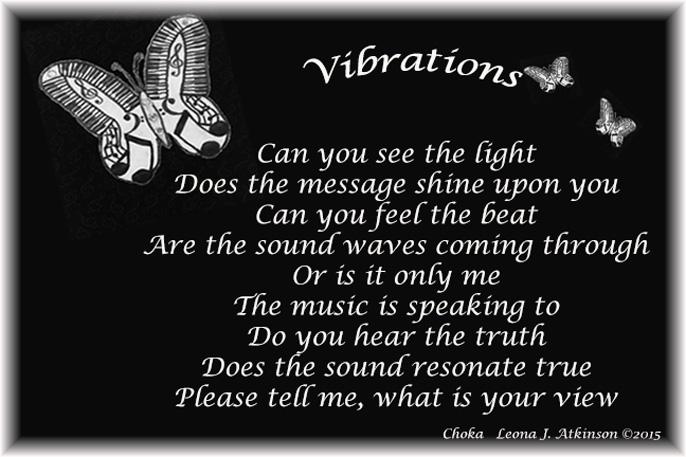 Choka poem about music vibrations