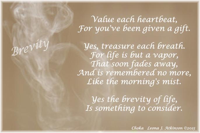 Brevity of Life--Choka poem