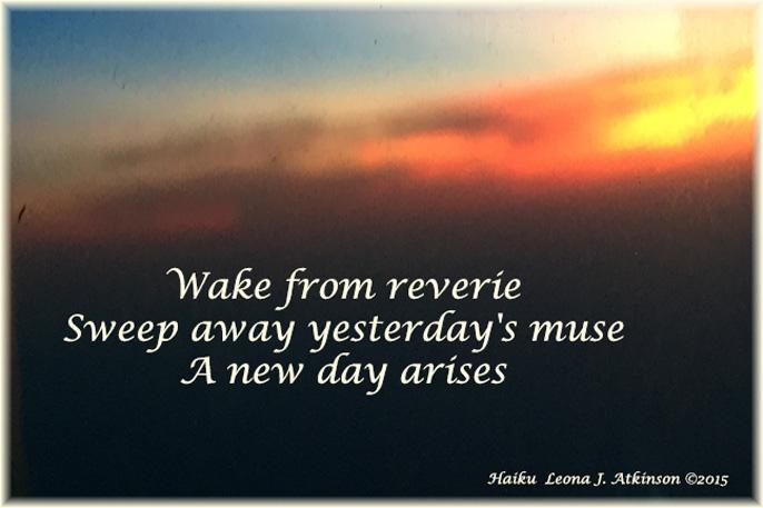 sunrise--new day Haiku