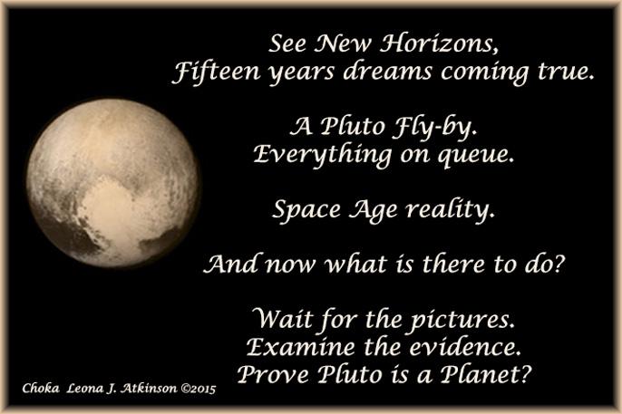Choka poem about Pluto