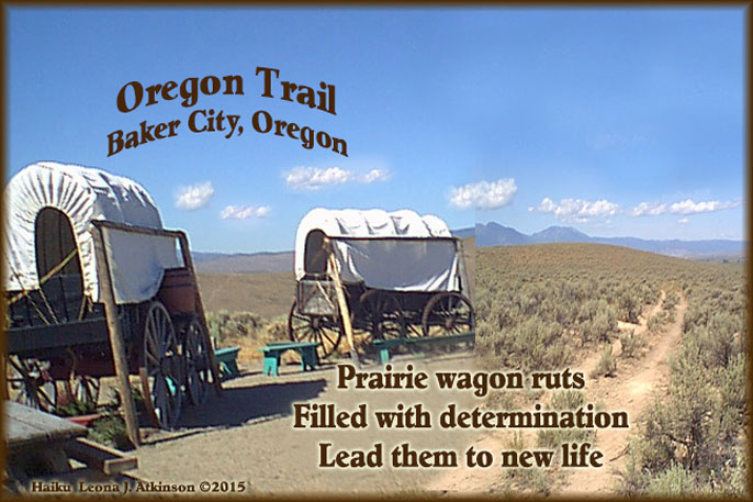 Haiku poem bout the Oregon Trail