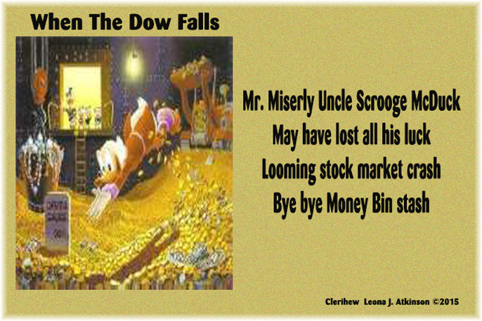 Clerihew poem about Scrooge McDuck