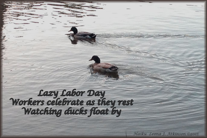 Haiku about Labor Day