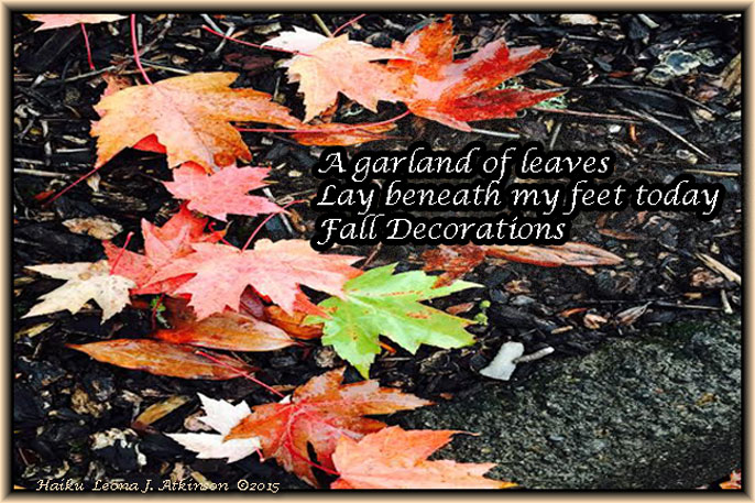 Fall Leaves--Haiku