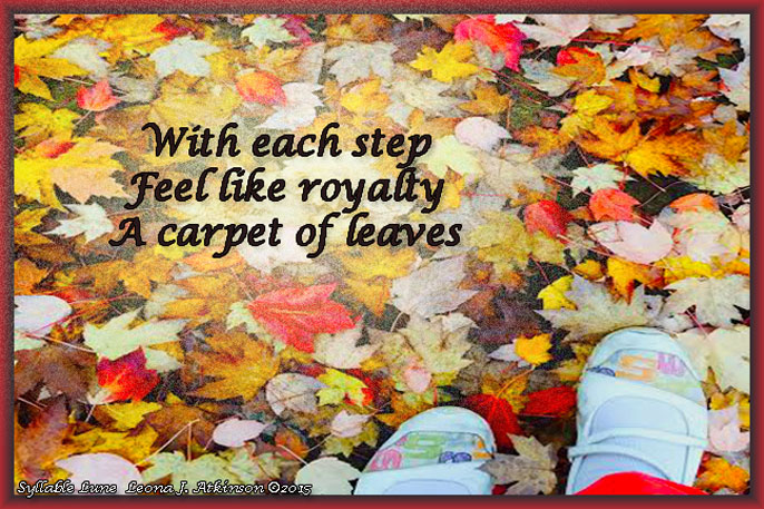 Carpet of Leaves--Fall--Syllable Lune poem