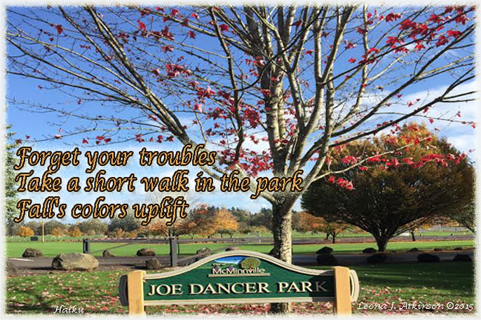 Haiku--Forget troubles