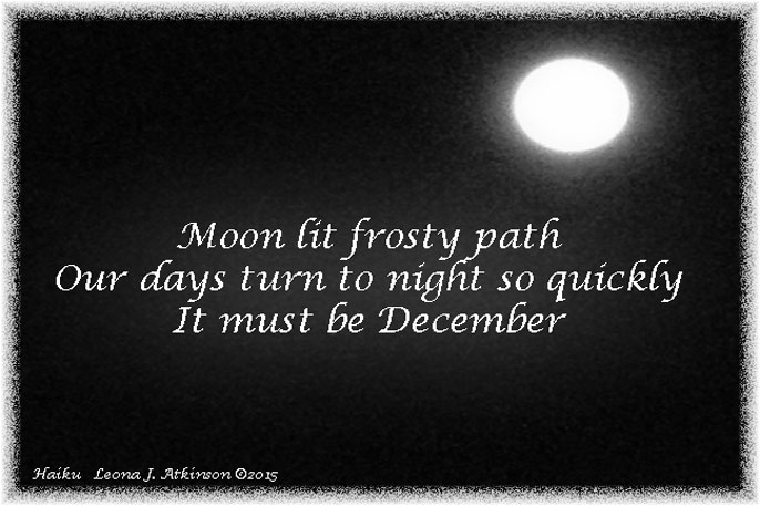 Full Moon--December Haiku