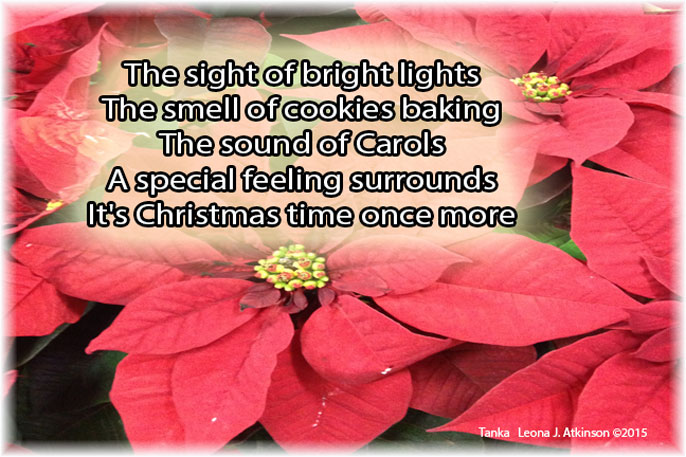 Sights, Sounds, Smells of Christmas Tanka poem