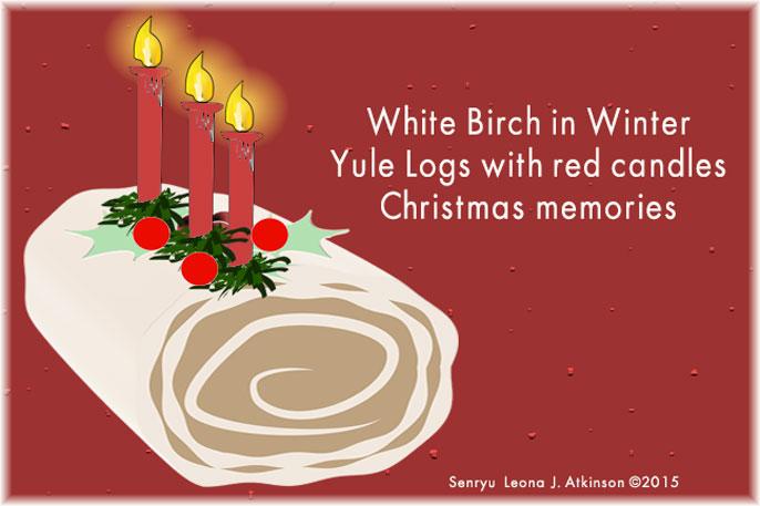 Yule Log   Senryu poem