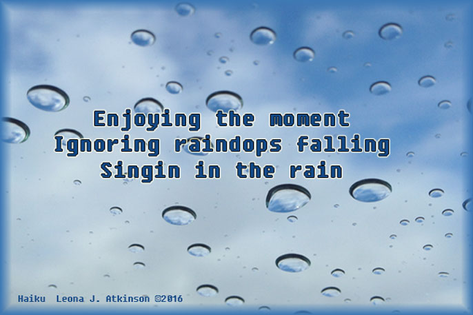 singin' in the rain--Haiku